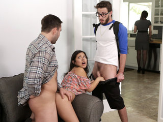 Step Family Threesome