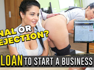 LOAN4K. Hottie Alex Ebony out of currency so why she takes