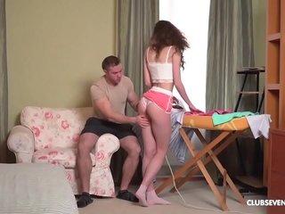 The irony of ironing