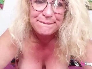 ULTIMATE BUSTY GILF Fina is back with us to love a fresh young pipe