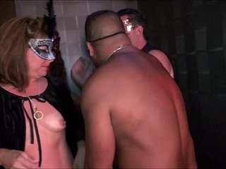 Youthfull swingers-hot MILFs go insatiable in Trapeze Club-NEW-FULL video now on RED