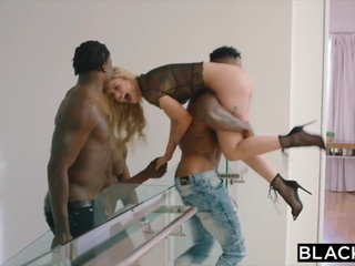 Kali Roses fucked by six BBCs