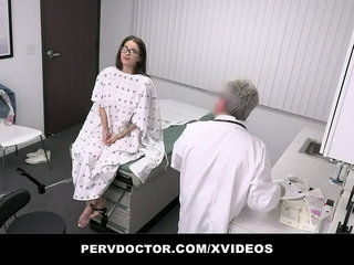 Hurt Doctor Fucks Teen With Glasses