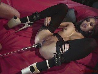 XDOMINANT 029 - ROXY Chops ANAL Tint Approximately BDSM Donjon